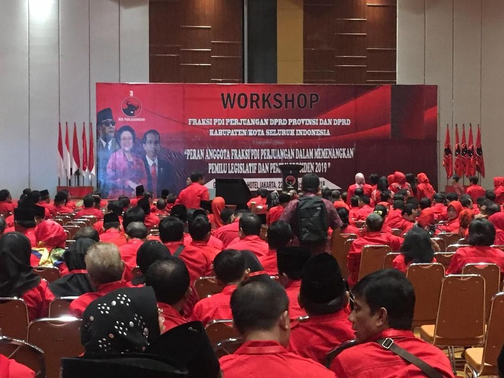 Konsolidasi Kemenangan Jokowi-Maruf, PDIP Kumpulkan Kader Fraksi