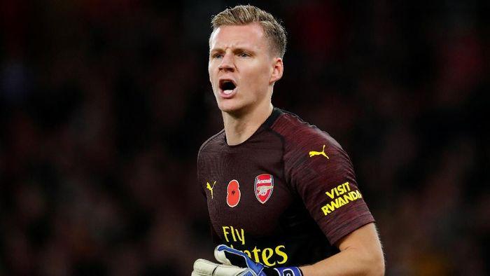 Bernd Leno kini jadi kiper utama Arsenal (Eddie Keogh/REUTERS)