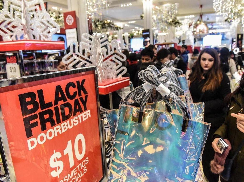 Begini Suasana Black Friday di Amerika Serikat