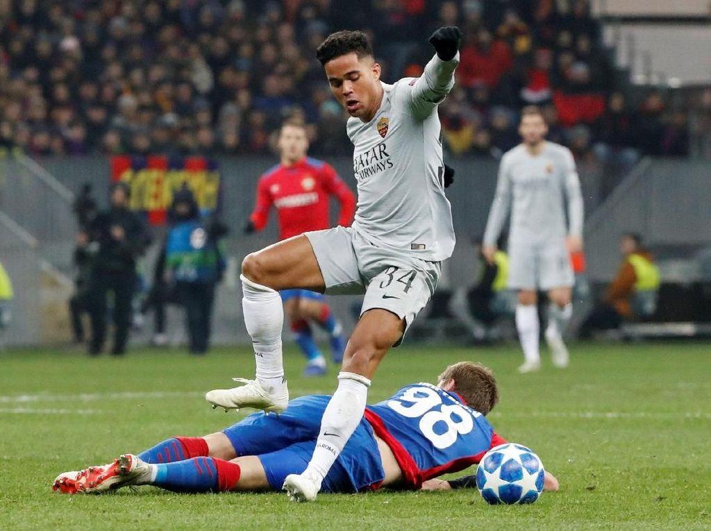 Justin Kluivert Terinspirasi Ronaldo dan De Rossi