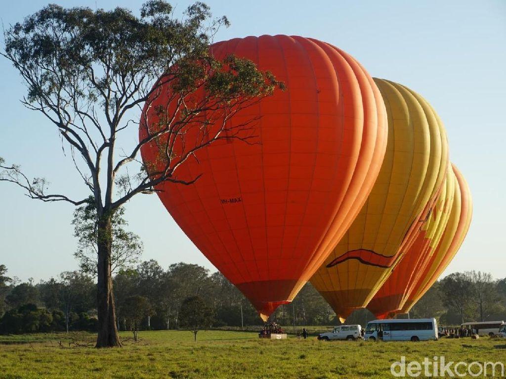 Foto Naik Balon Udara di Australia, Pengalaman Tak Terlupa