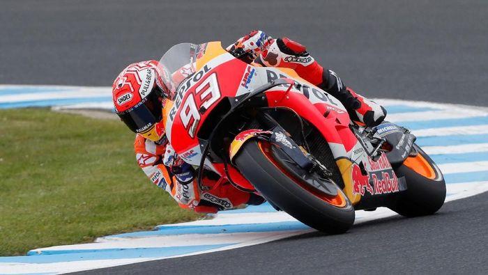 Marc Marquez dirayu kembali ke KTM. (Foto: Reuters)