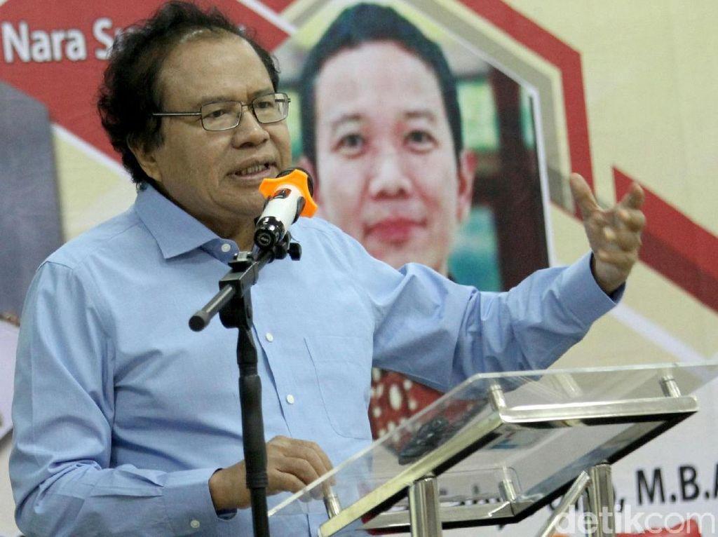 Kritik Ekonomi Jawa Barat, Rizal Ramli: Kebanyakan Pencitraan