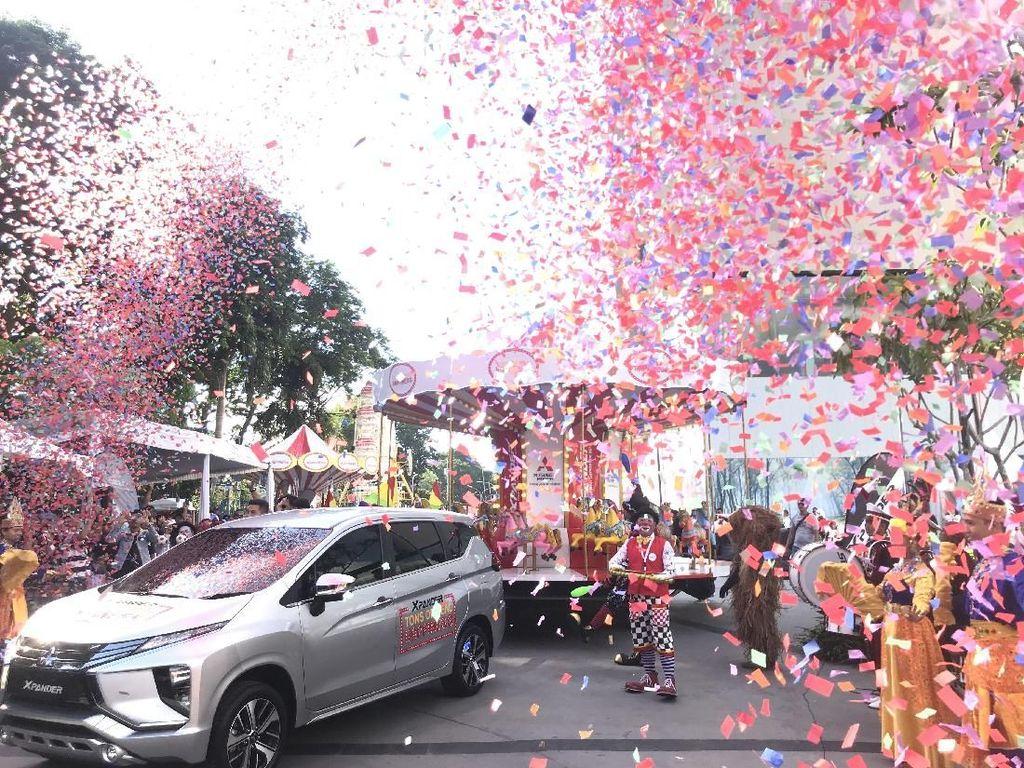 Jajal Mitsubishi Xpander di Palembang Icon Mall, Yuk!