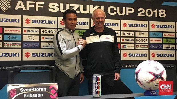 Duel Timnas Indonesia lawan Filipina jadi panggung adu taktik antara Bima Sakti melawan Sven Goran Eriksson.