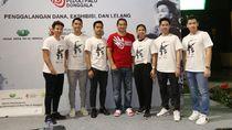 Jonatan, Kevin dkk Lelang Jersey-Raket untuk Korban Gempa Palu & Donggala