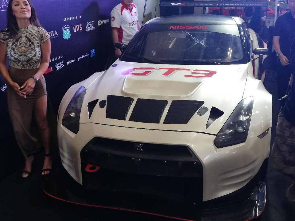 Mobil Balap Nissan GTR GT3 Ini Diterbangkan dari Jepang ke BSD