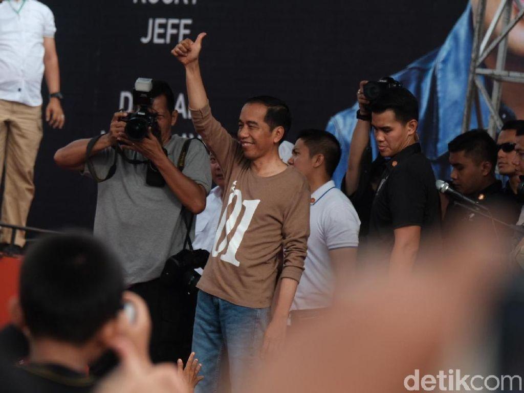 Soal Survei LSI, Timses Yakin Elektabilitas Jokowi Naik Awal 2019