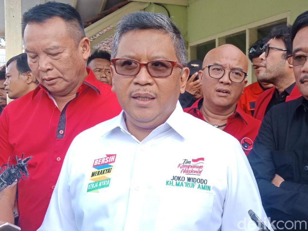 Hasto ke Buruh di Sumut: Pilih Pemimpin yang Rekam Jejaknya Jelas