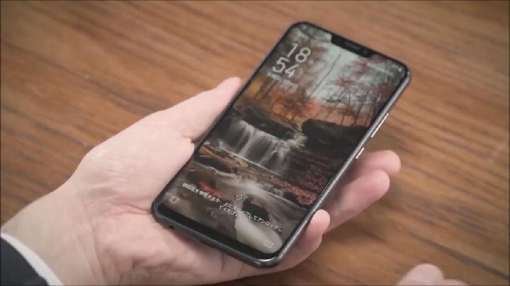 Penampakan Bocoran Asus Zenfone Max Pro M2