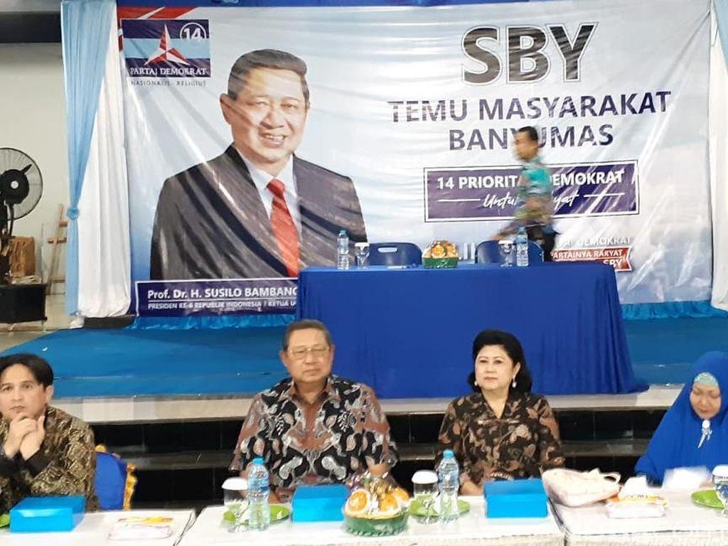 SBY Minta Caleg Yang Terpilih Nanti Bekerja Siang dan Malam