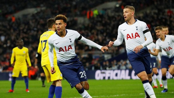 Spurs Ungguli Chelsea 2-0 di Babak Pertama