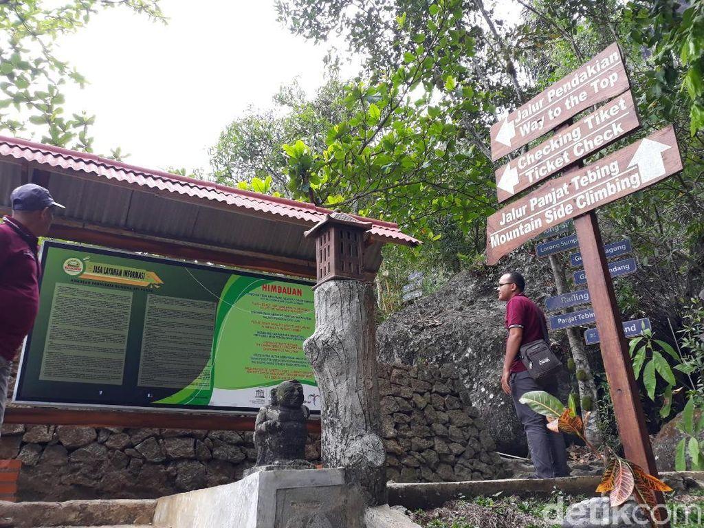 Libur Tahun Baru, 170 Ribu Turis Datang ke Nglanggeran Gunungkidul