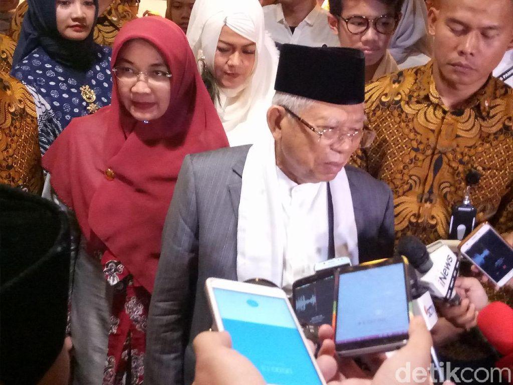 Maruf Amin Yakin Generasi Milenial akan Dukung Jokowi