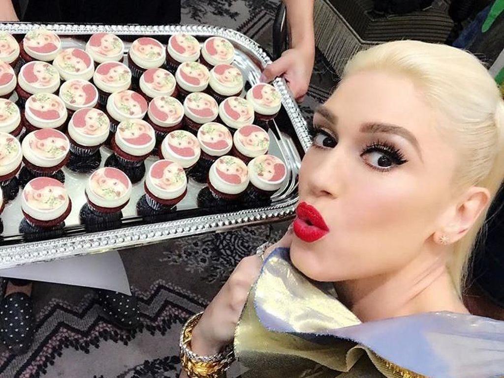 Cupcake dan Pizza Jadi Makanan Kesukaan Gwen Stefani