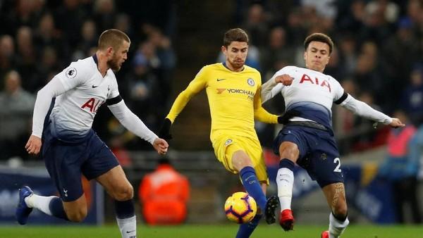 Jorginho Dimatikan, Chelsea pun Tak Berdaya