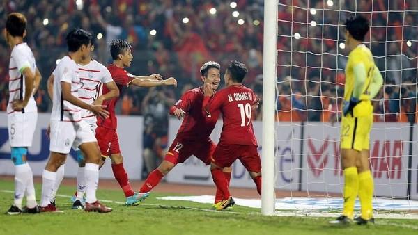 Vietnam, Malaysia Tembus Semifinal Piala AFF 2018