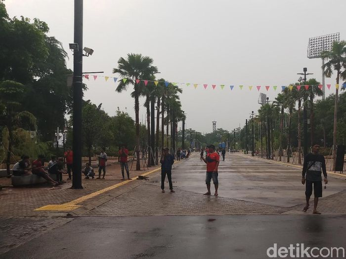 Suasana Stadion Utama Gelora Bung Karno. (Foto: Yanu Arifin/Detikcom)