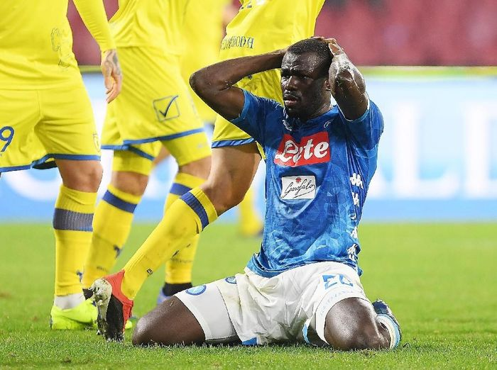 Pemain belakang Napoli, Kalidou Koulibaly. (Foto: Francesco Pecoraro/Getty Images)