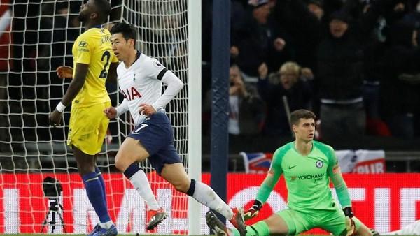 Hasil Tottenham Vs Chelsea: Lilywhites Taklukkan The Blues 3-1