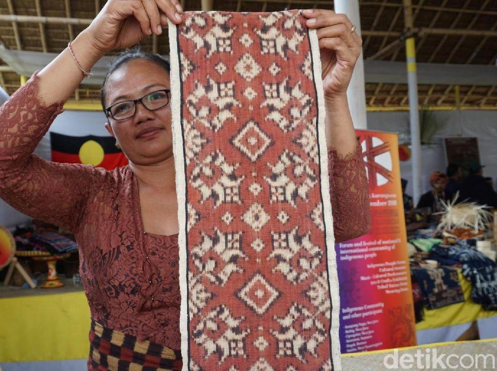 Kantongi Paten, Kain Gringsing Bali Minimal Dibuat 2,5 Tahun/Helai