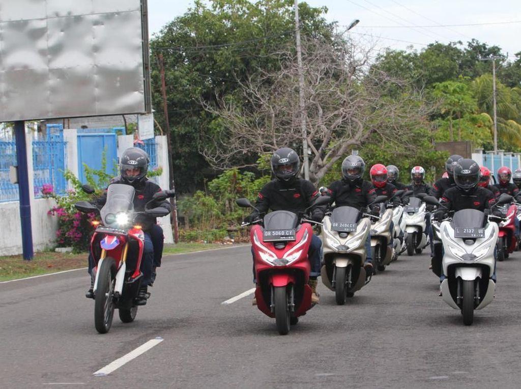 Honda Buktikan PCX Bisa Disiksa di Medan Ekstrem