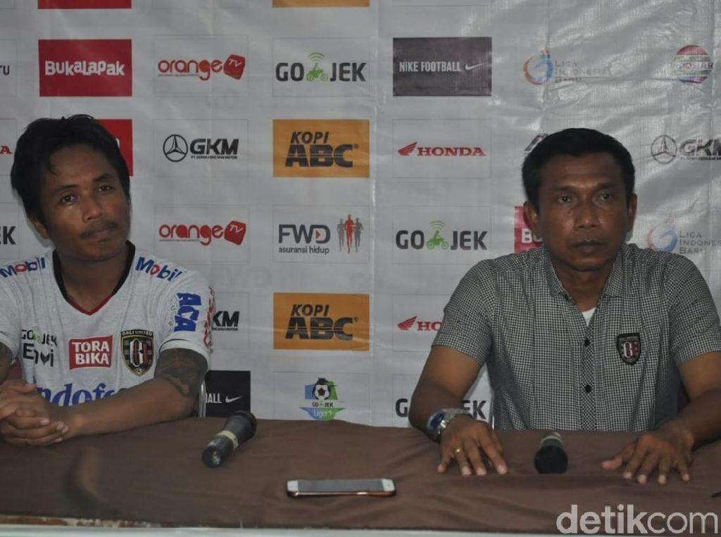 Widodo Ungkap Penyebab Kekalahan Telak Bali United