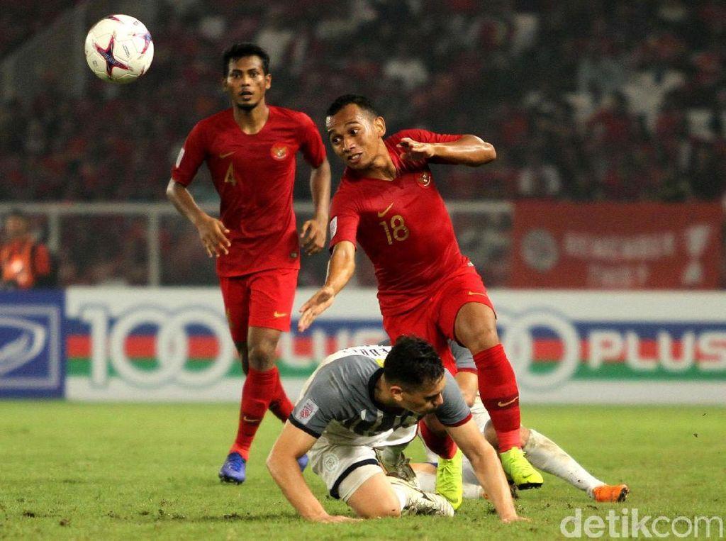 Indonesia Gagal Menang di Laga Terakhir Piala AFF 2018