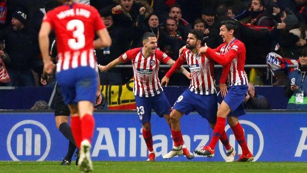 Diego Costa sempat memberikan harapan untuk pendukung Atletico.