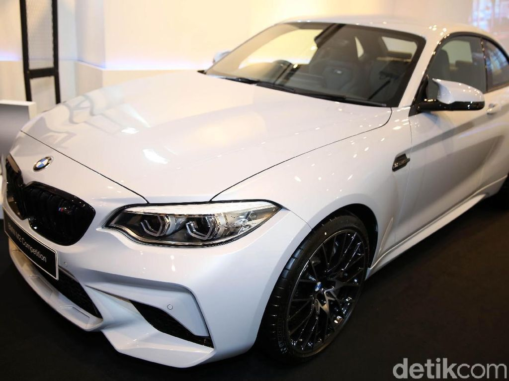 Jagoan Ngedrift BMW M2 Competition, Ada Transmisi Manual