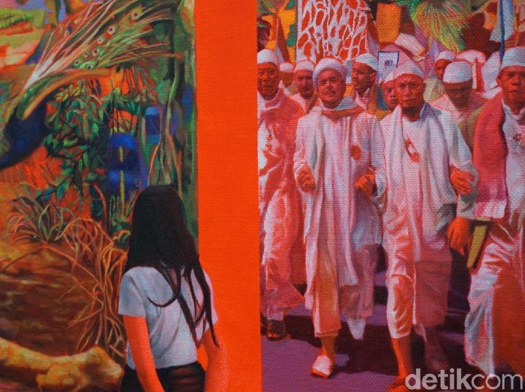 Selain Ketemu Habib Rizieq, Ada Karya Seni Lain di Brisbane
