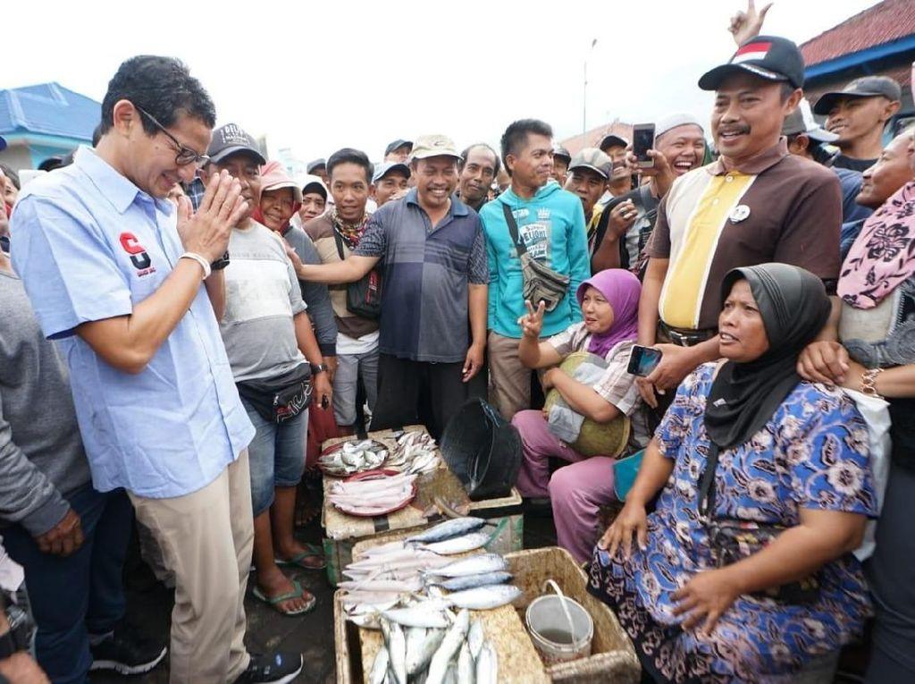 Curhat Nelayan ke Sandi: Harga Ikan Murah Hingga Kesulitan Solar