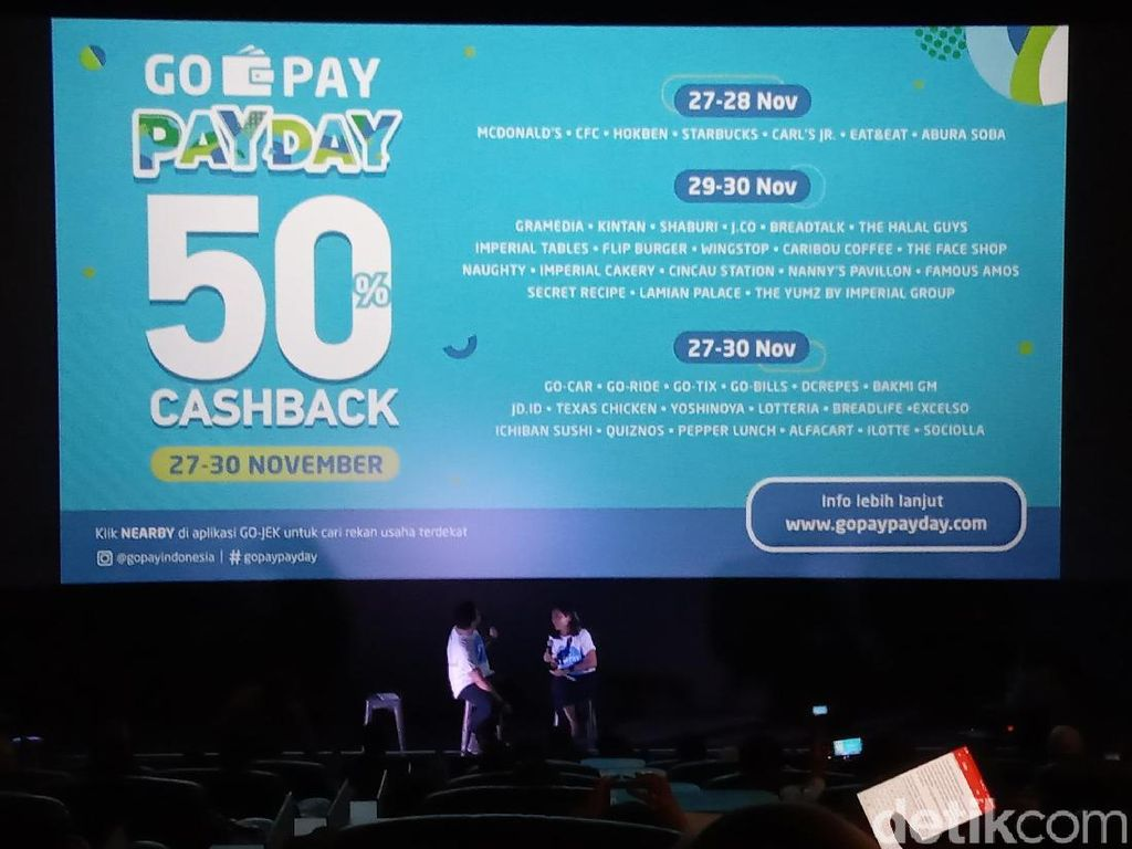 Merasakan Cashless Society Lewat Go-Pay Pay Day