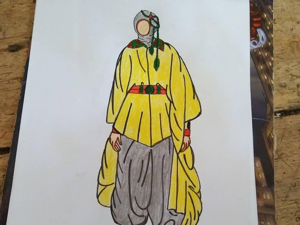 Viral, Pria Difabel dari Bandung Desain Baju yang Bikin Netizen Terpukau