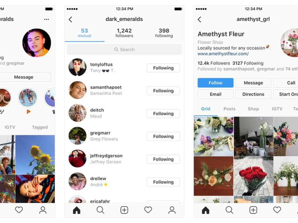 Siap-siap, Halaman Profil Instagram Bakal Dipermak