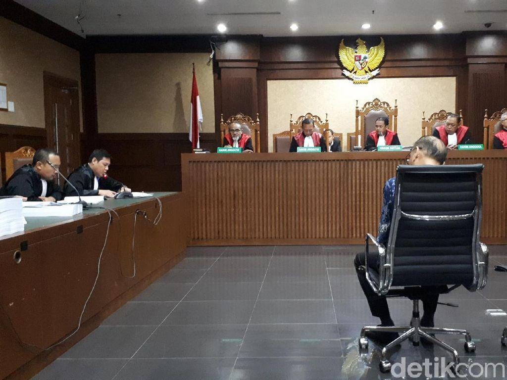 Pengusaha Kotjo Dituntut 4 Tahun Bui di Kasus Suap PLTU Riau-1