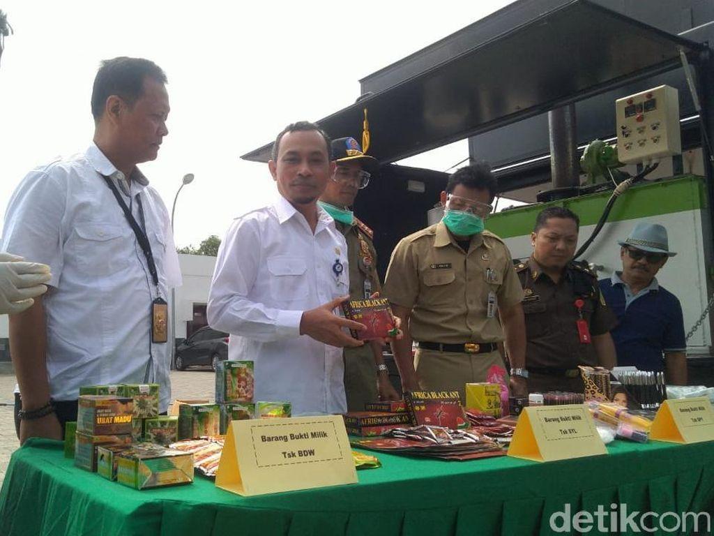 BPOM Semarang Musnahkan Obat Ilegal Senilai Rp 6,4 M
