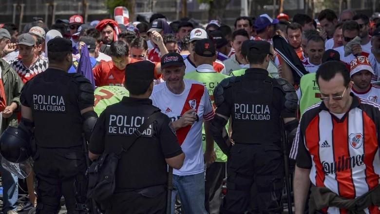 Alasan PenundaanPartai River Plate vs Boca Juniors