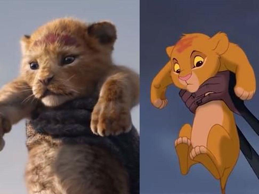 Perbandingan The Lion King Versi 1994 dan 2019