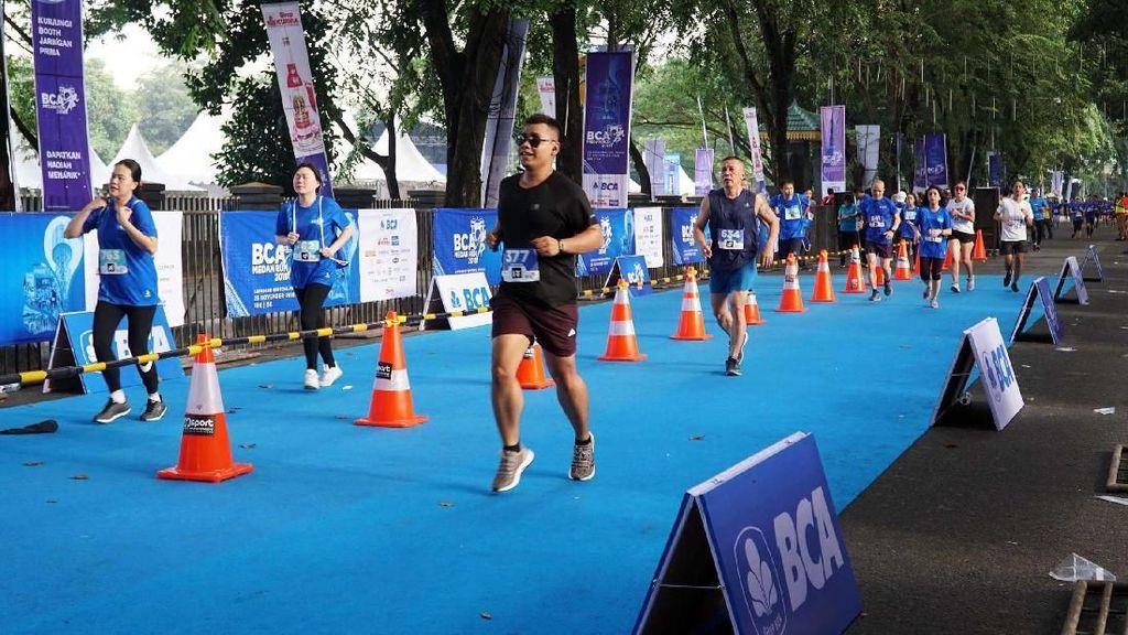 Ribuan Peserta Adu Cepat di Medan Run 2018