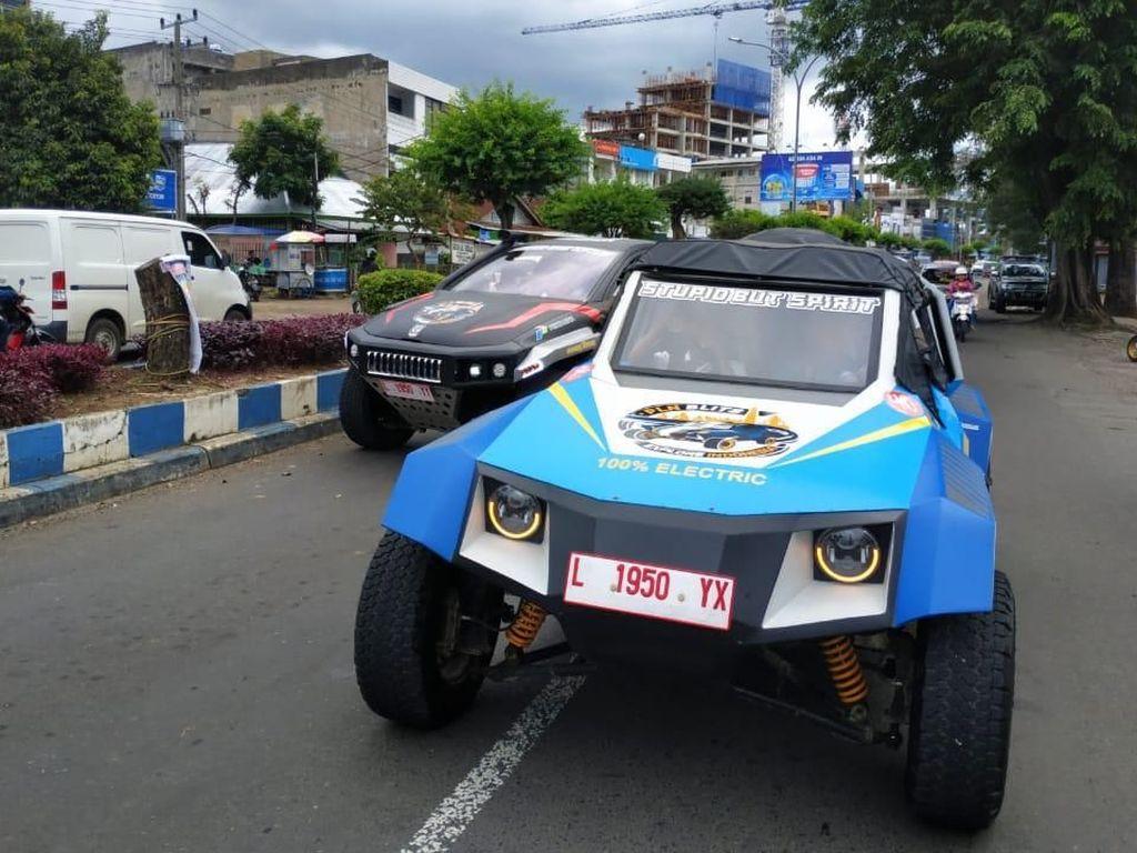 Mantap! Mobil Listrik Duet ITS-Budi Luhur Ini Sudah Tempuh 1.600 Km