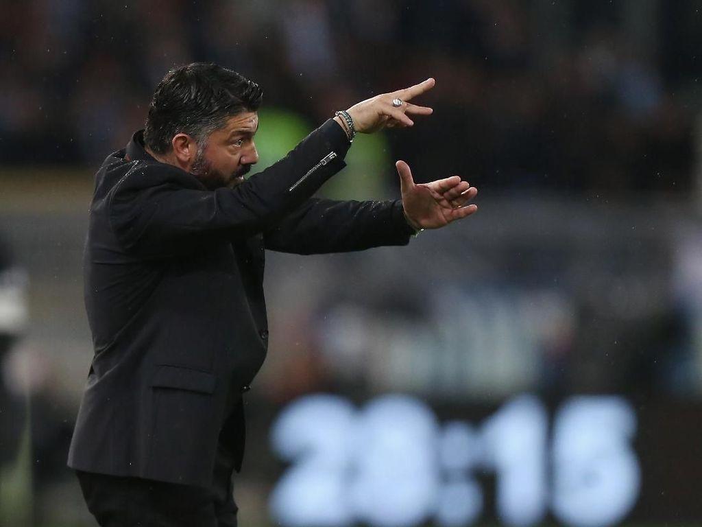 Bebas Hukuman, Gattuso Bisa Temani Milan Hadapi Inter