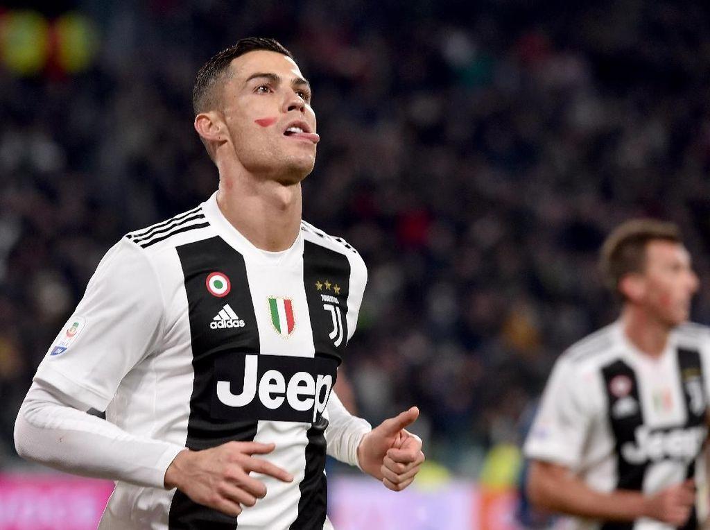 Tanda Merah di Pipi Ronaldo dan Bintang-Bintang Serie A