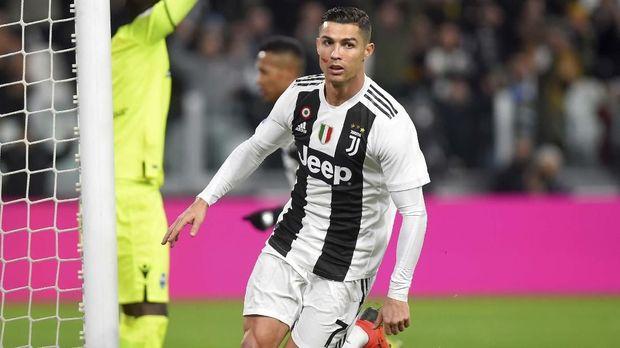 Cristiano Ronaldo kemungkinan besar dicadangkan pelatih Juventus Massimiliano Allegri pada laga Boxing Day Liga Italia melawan Atalanta. (