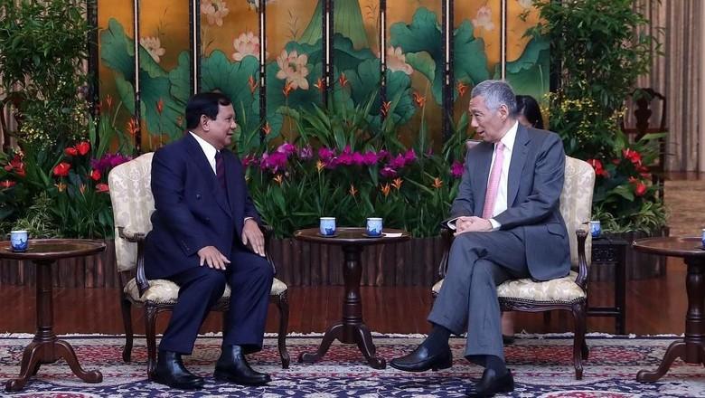 Prabowo ke Singapura Jadi Pembicara Utama