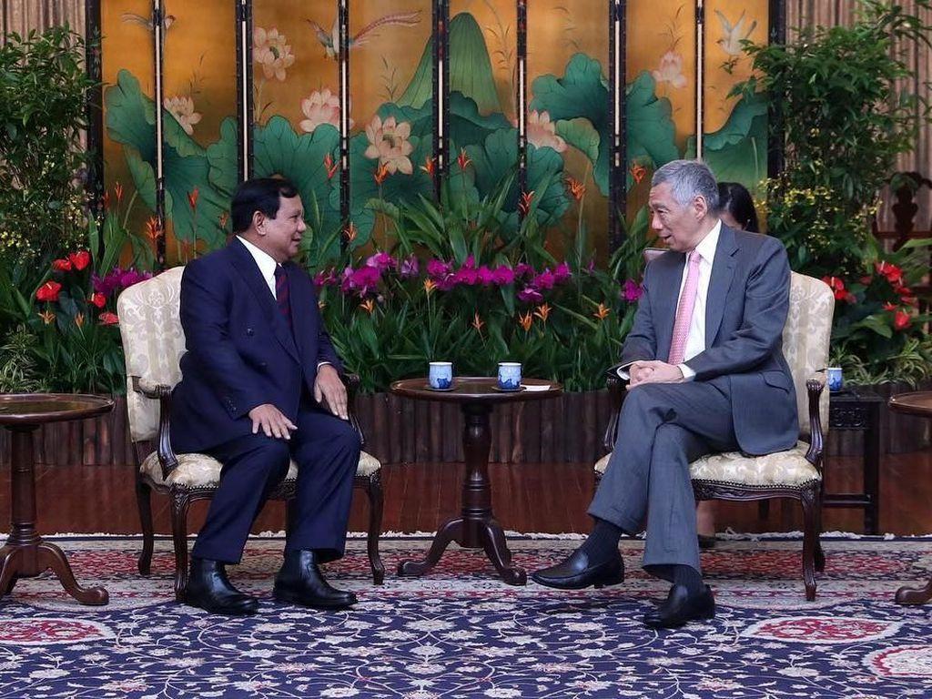 Prabowo Bertemu PM Singapura, Apa yang Dibahas?