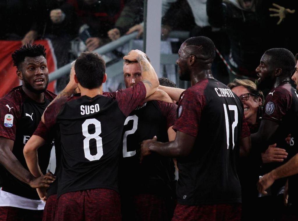 Milan Kehilangan Dua Poin Penting untuk ke Liga Champions