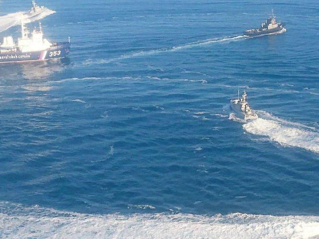 Kapal Ukraina Ditahan, Politikus Eropa Serukan Sanksi Baru untuk Rusia