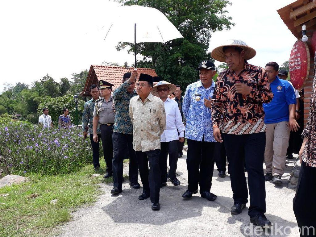 Kesan JK Saat Mengunjungi Puri Mataram, BUMDes Wisata di Sleman