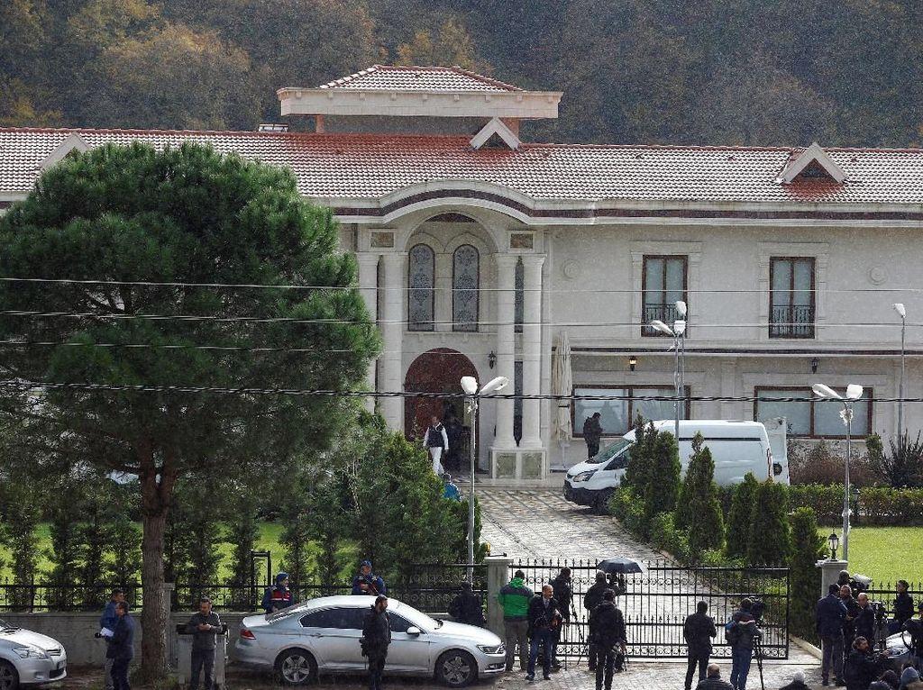 Vila yang Digeledah Turki Terkait Kasus Khashoggi Milik Teman MBS